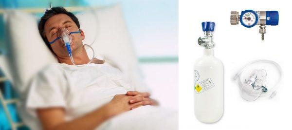 Butelii oxigen medicinal