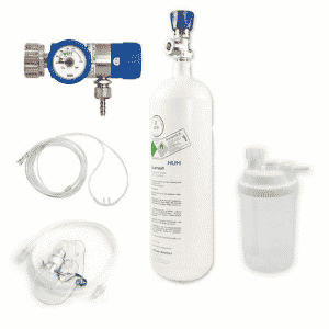 Butelie Oxigen Medical cu reductor - set complet