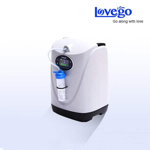 Concentrator de oxigen cu acumulator portabil LG-102